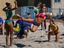 Beach Handball Brazil vs Chile Pan Am Tournament