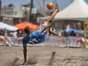 Nick Perera Bike Kick Beach Soccer