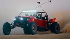 red sandrail at night glamis drags
