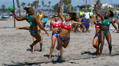 Beach Handball Brasil vs Chile Women