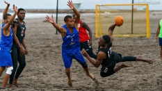 Puerto Rico vs Trinidad Tobago Men Beach Handball 2018