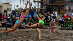 USA vs Argentina Women Beach Handball 2