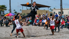 USA vs Puerto Rico Men Donlin Pan American Beach Handball Nationals