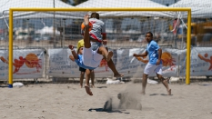 GoBeachSoccerPro Bicycle Kick Beach Soccer USA 2