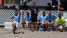 GoBeachSoccerPro Penalty Kick Beach Soccer USA