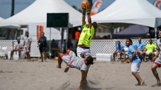 Los Angeles Beach Soccer Team vs GoBeachSoccerPro Goalie