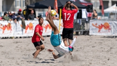 Sand Soccer Bicycle Kick NorCal BSC 2019