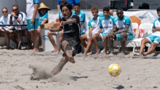Strontive Japan Sand Soccer Penalty Kick 2019