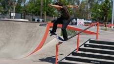 Frontside Tail Slide Gage Boyle Boardr PRO AM