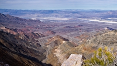 Aguereberry Point panorama photo, Death Valley