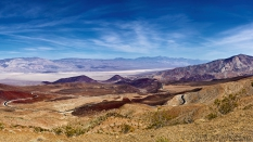 Father Crowley Vista Point Panamint Springs Death Valley