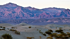 Mesquite Flat Sand Dunes, sunset photo, Stovepipe Wells, Death Valley