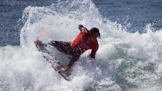 Jordy Smith surfer wins Hurley Pro surfing