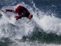 Nat Young surfer fins out Hurley Pro