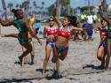 Beach Handball Brasil vs Chile Women
