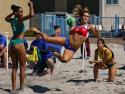 Beach Handball Brazil vs Chile Pan Am Tournament