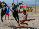 Beach Handball USA vs Puerto Rico Espinosa Bigham