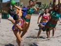 Brasil vs Chile Beach Handball Women