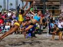 Brazil vs Uruguay Women Beach Handball