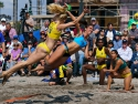 Brazil vs Uruguay Women Oside Pan Am Beach Handball