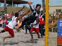 Pan Am Beach HandBall USA vs Puerto Rico Men Garcia
