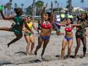 Pan Am Beach Handball Brazil vs Chile Ladies