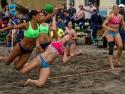 Pan Am Beach Handball USA vs Argentina Women