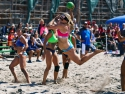 Team USA vs Argentina Womens Beach handball