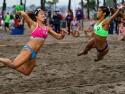 USA vs Argentina Women Beach Handball Pan Am Nationals