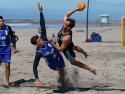 Uraguay vs Paraguay Men Beach Handball PamAm