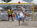 GoBeachSoccerPro Nick Perera Bicycle Kick Beach Soccer USA