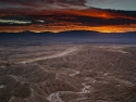 Fonts Point Sunset Anza Borrego Desert