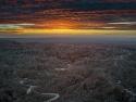 Fonts Point Sunrise Anza Borrego Desert