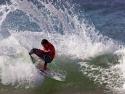 Adriano de Souza surfing cutback Trestles