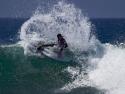 Matt Banting surfing Lowers