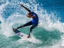 Bede Durbridge cutback surfing Trestles