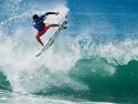 Italio Ferreira major air surfing Trestles 2017