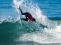 Matt Wilkinson fins out surfing Trestles 2017
