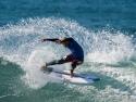 Stu Kennedy surfing cutback Trestles 2017