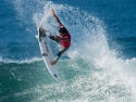 Julian Wilson getting air Hurley Pro 2017 forth