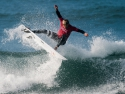Kohole Andino surfing Hurley Pro sequence third