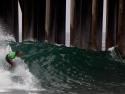 Finn McGill surfing HB pier