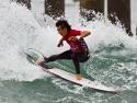 Hiroto Arai surfing cutback 2017