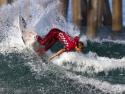 Jesse Mendes surfing US Open 2017