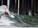 Kolohe Andino surfing HB Pier 2017