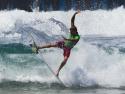 Sebastian Zietz surfing fins out 2017