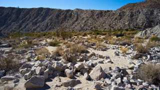 Torote Canyon overview