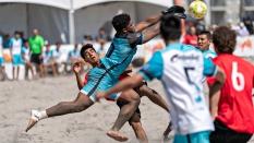 Castaways BSC goalie Sand Soccer 2019