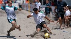 Eli Galbraith-Knapp White Claw FC Waves vs Crown Heights Sand Soccer