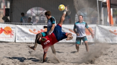 LABST Beach Soccer Kick against White Claw FC Waves 2019